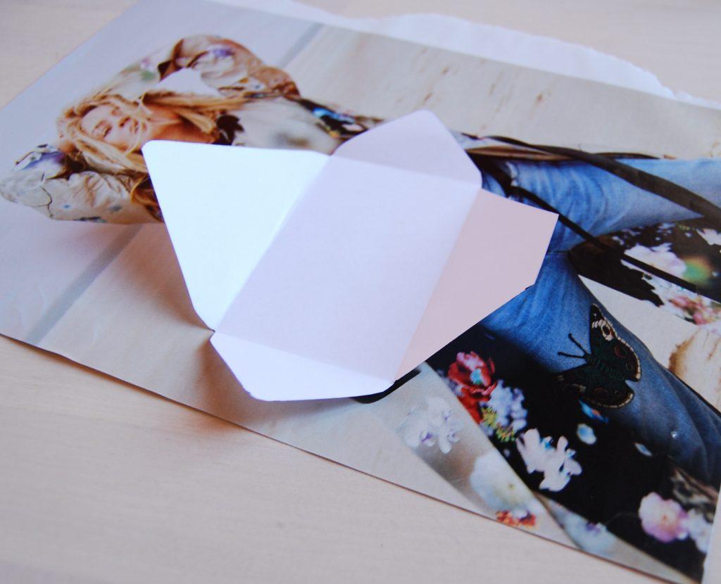 Enveloppe upcycling