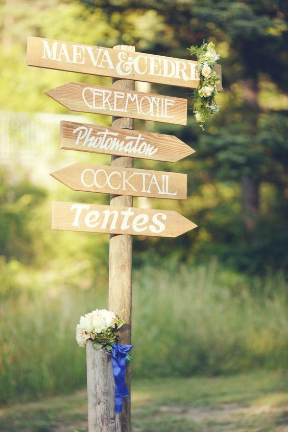 Préférence Mariage: 10 idées de déco en bois à sérigraphier & imprimer DR03