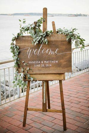 panneaux mariage